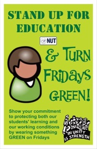 turn fridays green